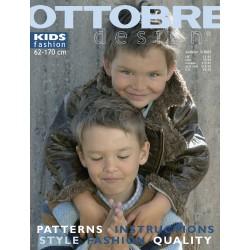 Časopis Ottobre design - 2003/3, Kids, anglicky, podzimní vydání - titulní strana