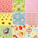 Samples of fabrics