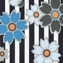 Květy na proužcích