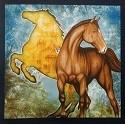 Dan Morris - Mustang Sunset