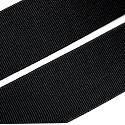 Pruženky ploché černé